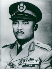 Portrait of Lieutenant General Kebede Gebre.