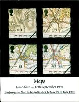 Stamps: British Commonwealth: Maps.