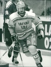 Magnus Roupe, ice hockey.