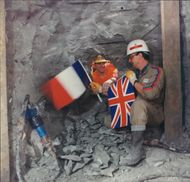 Channel Tunnel: The first undersea breakthrough.