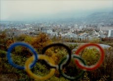 View of the 1992 Olympic city, Albertville