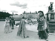 Trade Opera Society from England Guest Games at Drottningsholmsteatern