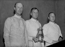The medalists in honor SM. - 27 April 1941