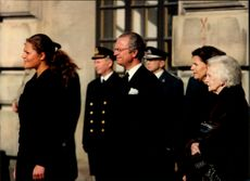 Crown Princess Victoria was raised on his name's day, see King Carl XVI Gustaf, Queen Silvia and Princess Lilian