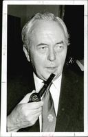 Portrait of Harold Wilson.