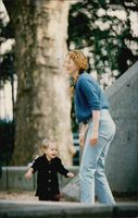 Nicole Kidman with daughter Isabella.