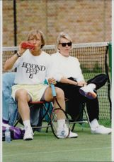 Portrait image of Martina Navratilova taken in an unknown context.