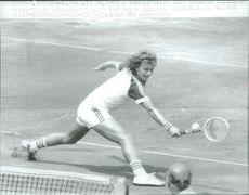 """The tennis player Stefan Simonsson plays in the """"Davis Cup"""" in Bucharest"""