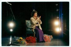Opera singer Birgit Nilsson celebrates his 80th anniversary at the Royal Opera