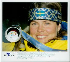 The road to the Olympics has been anything but harmless for Pernilla Wiberg. The silver medal became a good reward for the hard work.