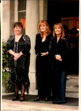 Sarah Ferguson attended a charity event together with Pauline Quirke and Linda Robson.