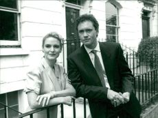 Nigel Planer and Sally Veitch.