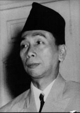 Portrait of Kjai Wahid Wahab.