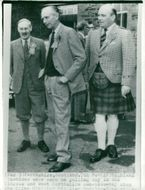 Prime Minister Sir Alec Douglas-Home in Scotland