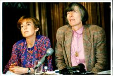 Mrs. Wendy Savage with Helena Daly.
