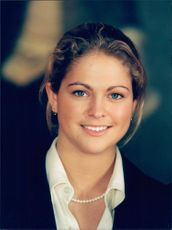 Portrait of Princess Madeleine during the annual Christmas photography, this year at the National Museum