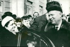 Nikita Khrushchev Former Premier of the Soviet Union.