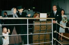 The King and Queen will inaugurate the Emigrant Exhibition at the Nordic Museum