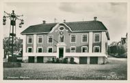 Postcard of the City Hall in Ulricehamn.