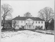 The author Knut Hamsun's home on Nørholm farm
