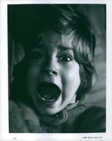 A child is shouting during the Violence (movie)