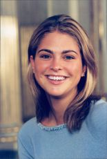 Portrait of the Princess Madeleine in conjunction with the Royal Family's traditional Christmas photography.