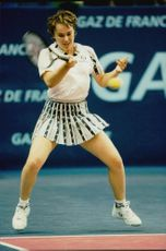 Martina Hingis in the French Open