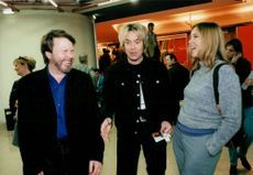 Mid Cannes Fair. Björn Ulvaeus, Per Gessle and Meja