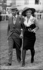 Prince and Princess Michael of Kent at Epsom