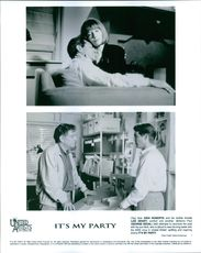 """A scene from the movie """"It's My Party"""" 1996"""