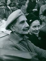 General Grivas with his wife, 1959.