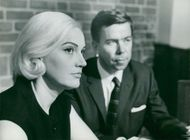 Ing-Margret Lackne and prosecutor Lars Ringberg in the courtroom
