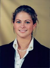 Portrait of the 16-year-old Princess Madeleine in conjunction with the Royal Family's traditional Christmas photography.