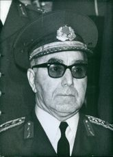 Turkish Service Chief, General Memduh Tagmac, 1972.
