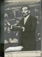 Pierre Laval represented himself during the trial. - 7 October 1945