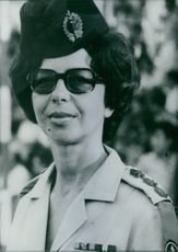 Portrait of Israeli Service Chief Colonel Debora Tomer.