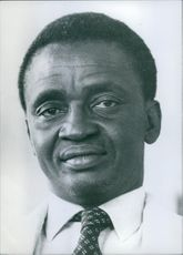 Portrait of Pierre Sarr N'Jie.