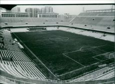 Photograph of 1982 world cup stadium, Velencia.