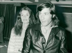 Ilie Nastase with wife dominique.
