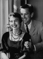 Marge Champion with her husband Gower Carlyle Champion.