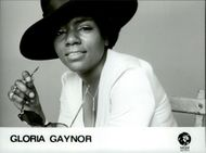 Portrait image of Gloria Gaynor taken in an unknown context.