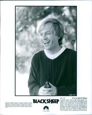 """Campaign worker Steve Dodds (David Spade) volunteers to keep a gubernatorial candidate's inept brother out of trouble and out of the headlines as election day approaches in the comedy film """"Black Sheep""""."""