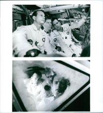Tom Hanks, Kevin Bacon and Bill Paxton stars in the 1995 film Apollo 13.