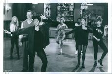 """Liza Minnelli as Mavis Turner in a scene from the movie """"Stepping Out"""", 1991."""