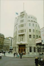 BBC headquarters in London