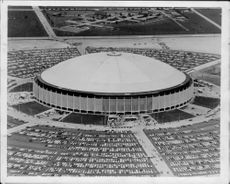 Aerial view of the indoor arena The Astrodome