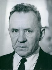 Portrait of Soviet Politician, Alexei Kosygin. 1967.