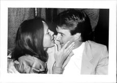"Jimmy Connors with Mrs Patti at the nightclub ""Le Garage"" in Paris"