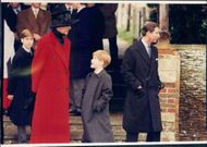 Diana and Charles with Princes William and Harry