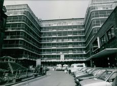 A view of the world famous Great Ormond street hospital for sick children in Great Ormand street, London.